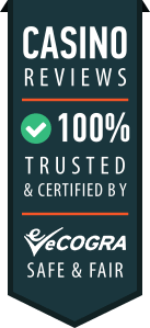 Trusted online casinos badge