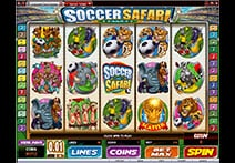 Cabaret Club Casino Slot - Soccer Safari