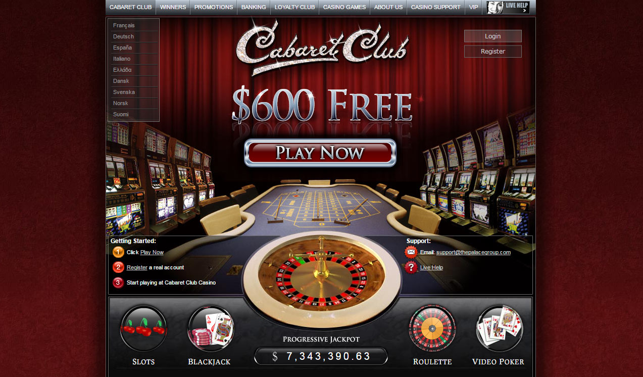 Cabaret Club Flash Casino