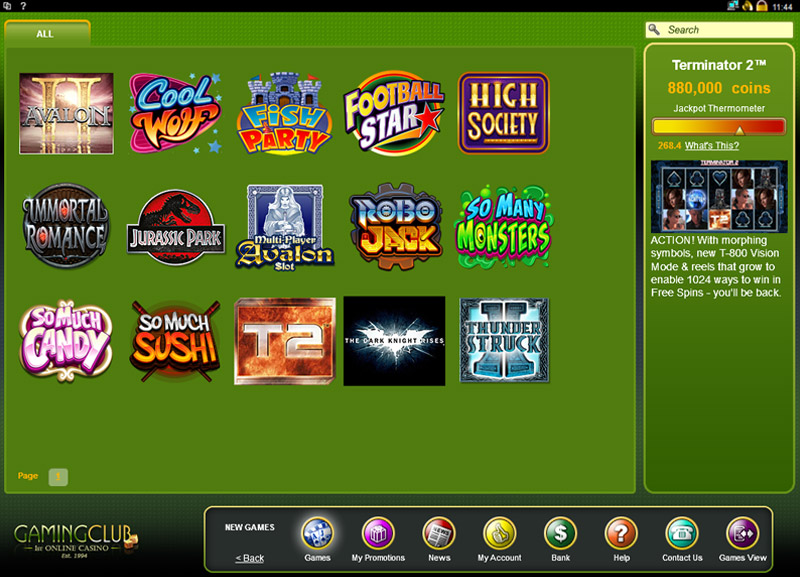 Play Club Night Slots Online at Casino.com Canada