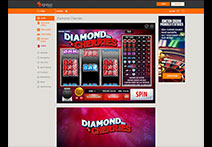Ignition Casino Slot - Diamond Cherries