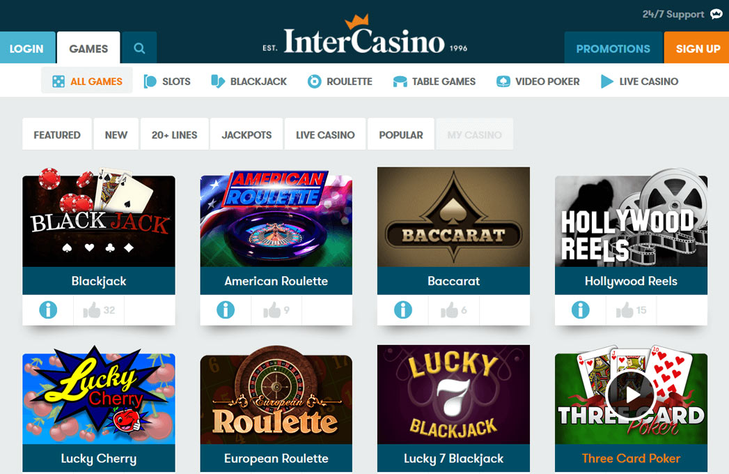 Intercasinos