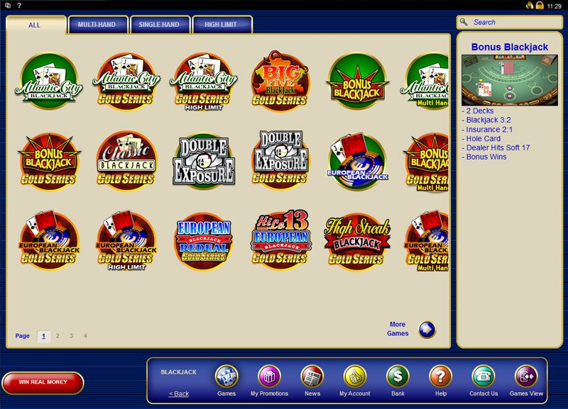 Lucky Nugget Casino Games