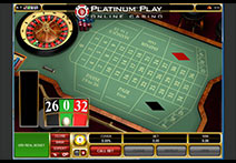 Platinum Play Casino Roulette