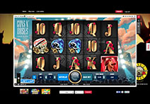 Royal Panda Casino Slot - Guns N' Roses